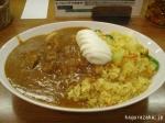 【ボナッ】ボナドライカレー大盛り+ゆで卵