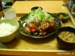【大戸屋】黒酢ソースの定食