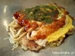 【くるみ】豚玉うどん に チーズトッピング