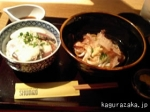 【SHUN】初カツオとろろ丼と冷やしぶっかけうどん