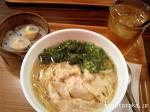 【香港粥麺専家】エビワンタン麺
