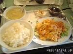 【菜麺館】卵とエビのチリソース